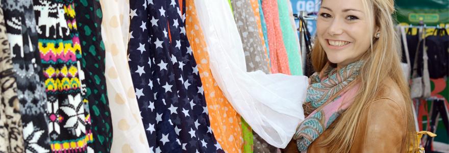 foulards en soie pour femme